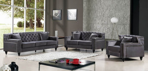 Chaviel Living Room Group Grey (Sofa)