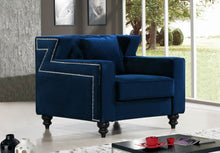 Chaviel Living Room Group Navy (Sofa)