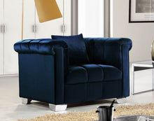 Kallin Living Room Group Navy (Sofa)