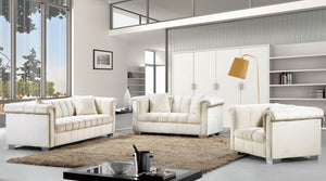 Kallin Living Room Group Cream (Sofa)