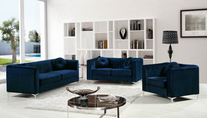 Hilen Living Room Group Navy (Sofa)