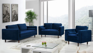 Frendria Living Room Group Navy (Sofa)