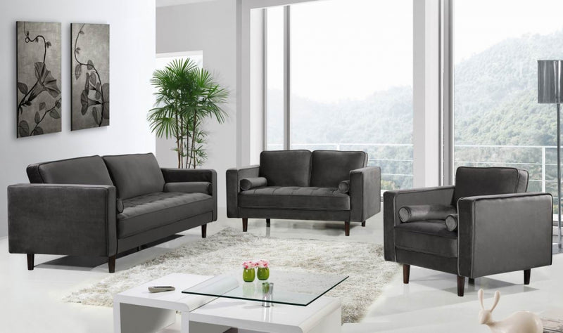 Frendria Living Room Group Grey (Sofa)