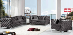 Dyna Living Room Group Grey (Sofa)