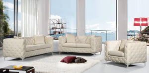 2pc Living Room Set: Sofa, Loveseat- FDCMF70663CR
