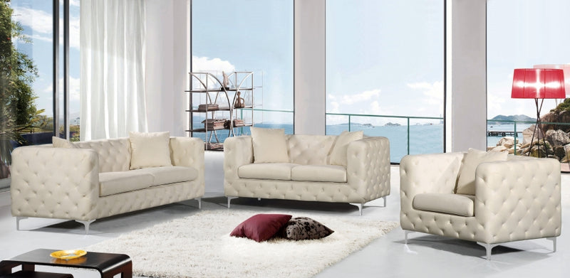 Dyna Living Room Group Cream (Sofa)