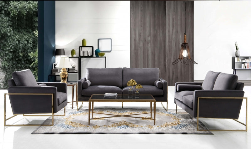 Anarie Living Room Group Grey (Sofa)