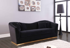 Avone Living Room Group Black (Sofa)