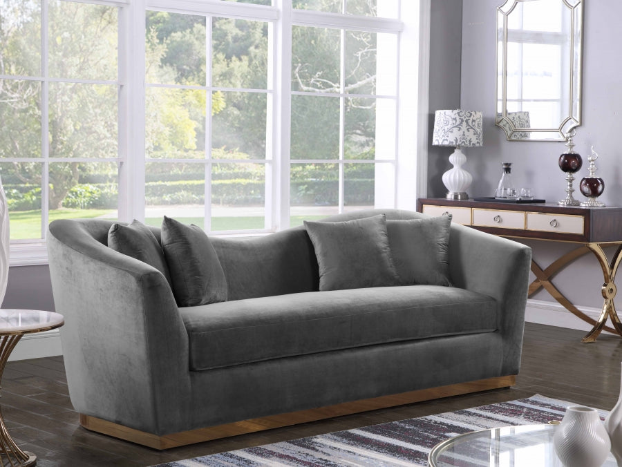 Avone Living Room Group Grey (Sofa)