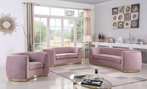 Dakona Living Room Group Pink (Sofa)