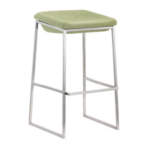 Bounce Counter Stool Green