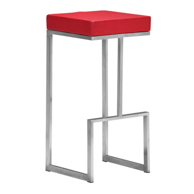 Devon Barstool Red
