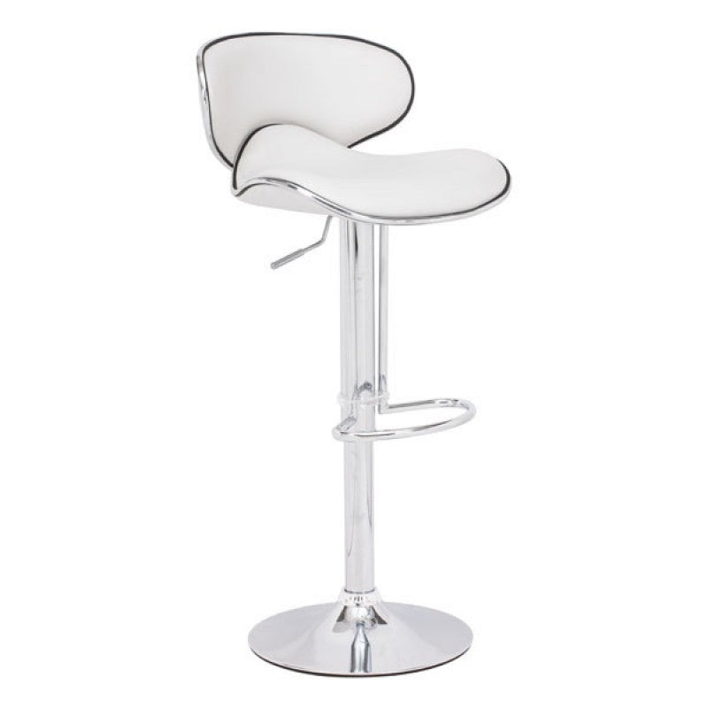 Curve Bar Chair White