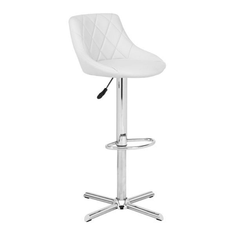 Amber Bar Chair White