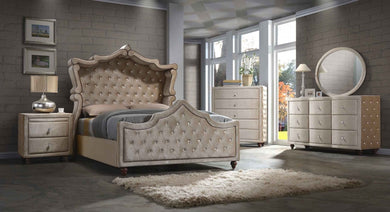 Adelle Bedroom Group Beige