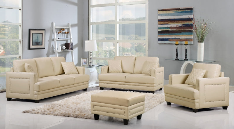 Aprii Living Room Group Beige (Sofa)