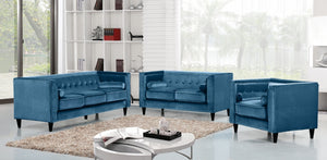 Halla Living Room Group Blue (Sofa)