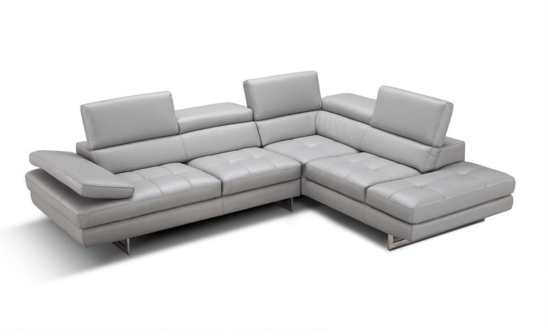 Chelini Leather Sectional