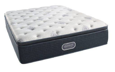Simmons® Beautyrest® Silver Afternoon Sun Plush Pillow Top Mattress King (Click for More Sizes)