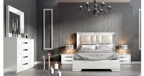 Fiesta White Bedroom Collection
