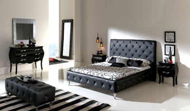 Alanis Black Bedroom Collection