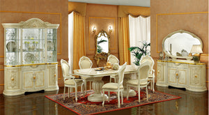 Paris Dining Room Collection - 7pc Set: Table and 6 Chairs