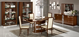 Salerno Walnut Dining Room Collection