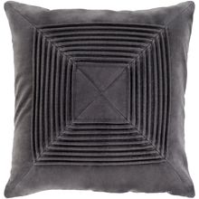 "Decorative Pillow Charcoal 18"" FDC06AKA0013"