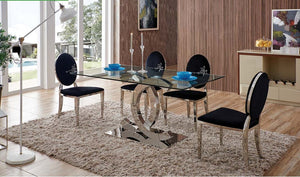 Aventura Black Dining Room Set