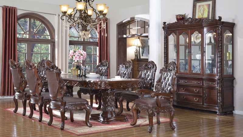 7pc Dining Room Set: Table and 6 Chairs- FDCMF70701