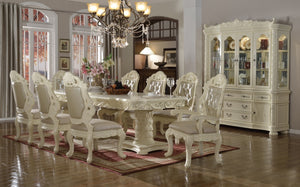 7pc Dining Room Set: Table and 6 Chairs- FDCMF70702
