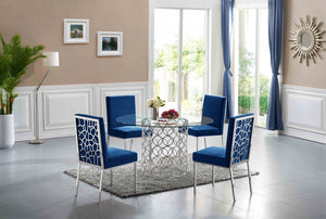 Sofiana 5pc Dining Room Set: Table and 4 Chairs- FDCMF70736NY
