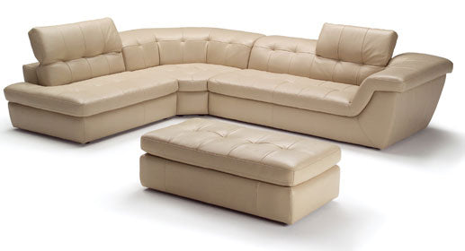 Almafi Italian Leather Sectional