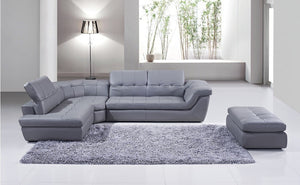 Almafi 100% Italian Leather Sectional