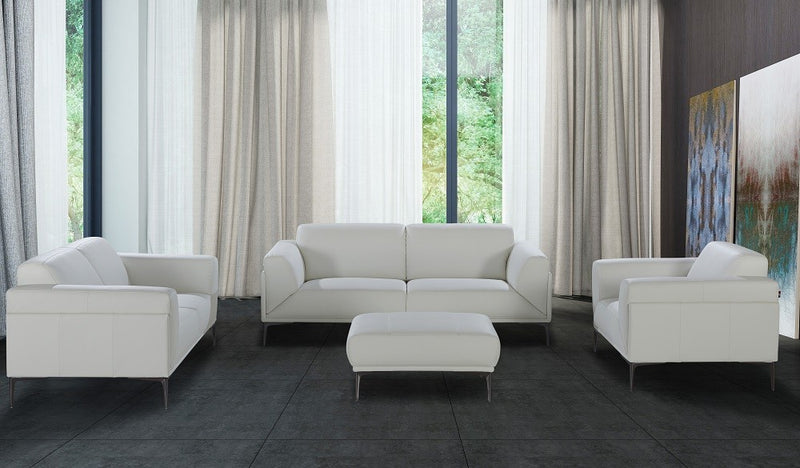 Dello Premium Leather Living Room Group (Sofa)