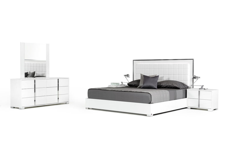 Santa Ana White Bedroom Collection Queen