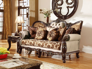Estonia 2pc Living Room Set: Sofa, Loveseat- FDCMF70610