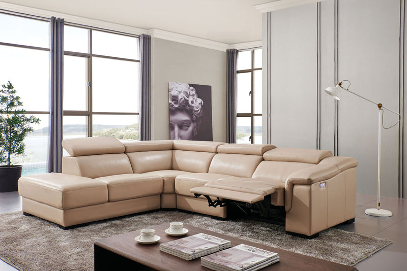 Leon Sectional with Power Recliner