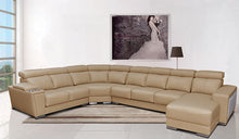 Bellegra Sectional with Sliding Seats