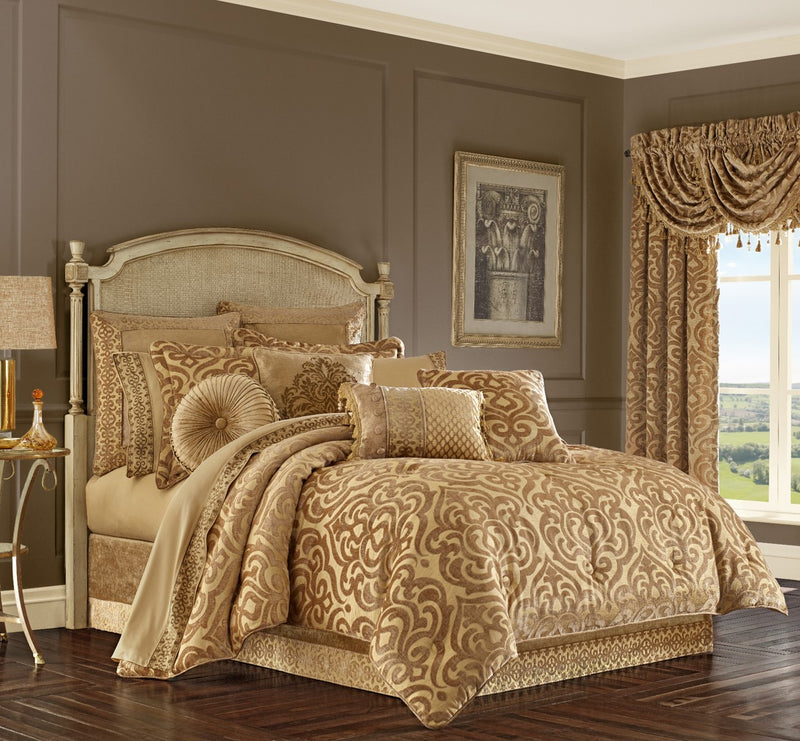 Luxury Comforter Set - FDCJKSIC Gold