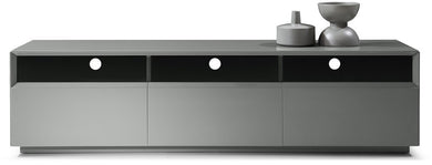 Treon Grey High Gloss TV Stand