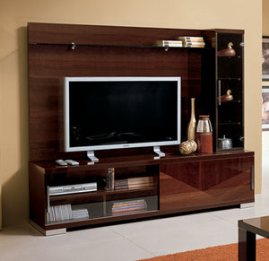 Soho Wall Unit Walnut
