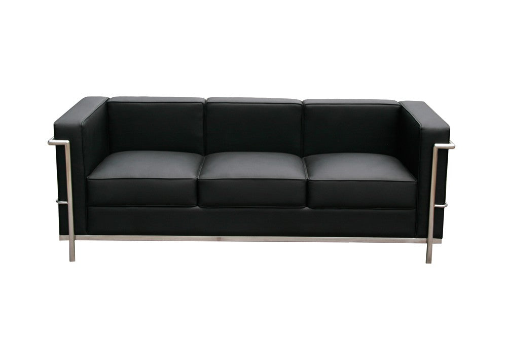 Cour Italian Leather Sofa & Chair