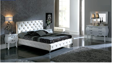 Alanis White Bedroom Collection