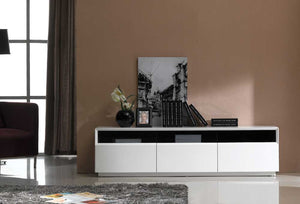 Treon White Gloss TV Stand