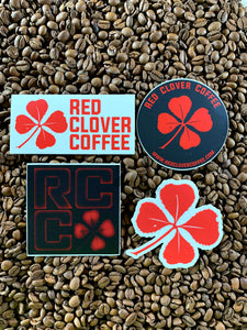 Sticker Bundle - Red Clover Coffee