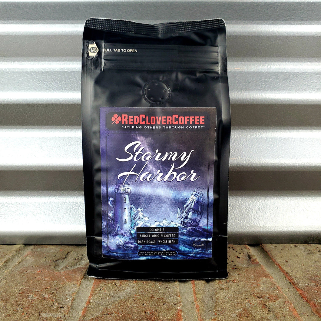Stormy Harbor: Dark Roast - Red Clover Coffee
