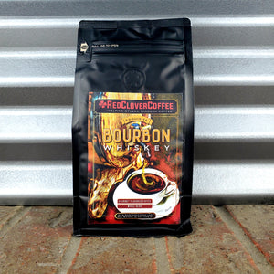 Exquisite Bourbon Whiskey: Gourmet Flavored - Red Clover Coffee