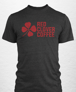 Short Sleeve T-Shirt - Red Clover Coffee