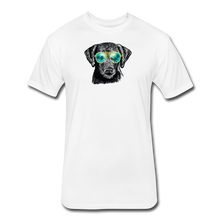 Load image into Gallery viewer, Fitted Cotton/Poly T-Shirt by Next Level - white